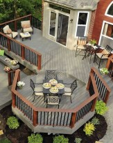 Superb Diy Wooden Deck Design Ideas For Your Home 21