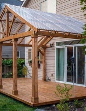 Superb Diy Wooden Deck Design Ideas For Your Home 26