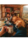 Casual Winter Decorating Ideas For Pet Lovers To Try Right Now 44