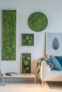 Delicate Natural Moss Wall Art Decorations Ideas To Try Right Now 18
