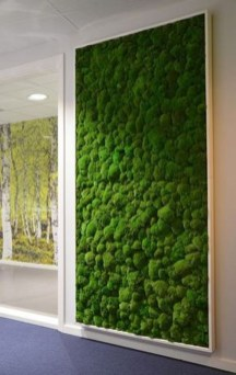 Delicate Natural Moss Wall Art Decorations Ideas To Try Right Now 21