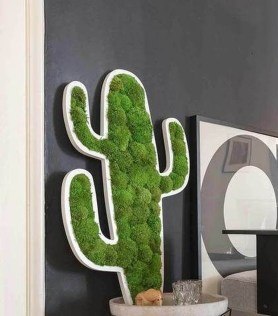 Delicate Natural Moss Wall Art Decorations Ideas To Try Right Now 28