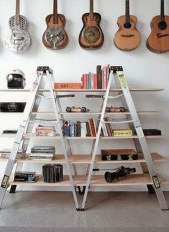 Dreamy Racks Design Ideas From Recycle Old Guitars To Try Asap 33