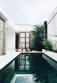 Elegant Black Swimming Pool Design Ideas That All Men Must Know 03