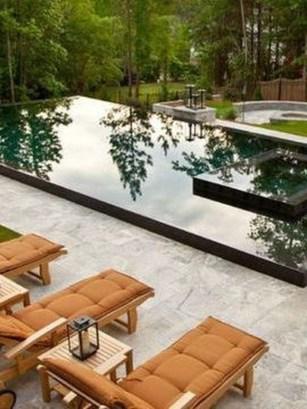 Elegant Black Swimming Pool Design Ideas That All Men Must Know 06