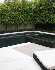 Elegant Black Swimming Pool Design Ideas That All Men Must Know 20