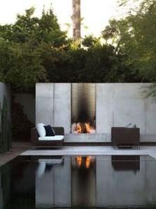 Elegant Black Swimming Pool Design Ideas That All Men Must Know 22