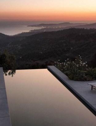 Elegant Black Swimming Pool Design Ideas That All Men Must Know 30