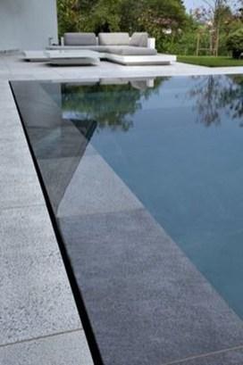 Elegant Black Swimming Pool Design Ideas That All Men Must Know 32