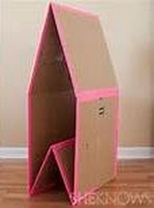 Enchanting Cardboard Playhouse Design Ideas For Kids That You Will Love It 06