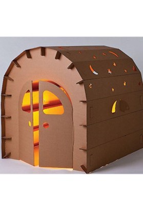 Enchanting Cardboard Playhouse Design Ideas For Kids That You Will Love It 09