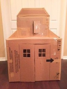 Enchanting Cardboard Playhouse Design Ideas For Kids That You Will Love It 19