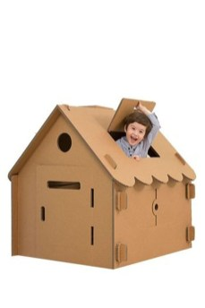 Enchanting Cardboard Playhouse Design Ideas For Kids That You Will Love It 20
