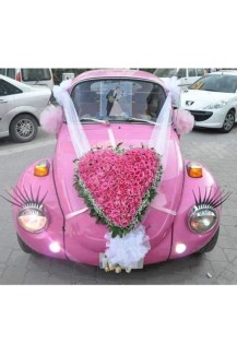 Gorgeous Wedding Theme Ideas With Vw Car Party To Have Right Now 02