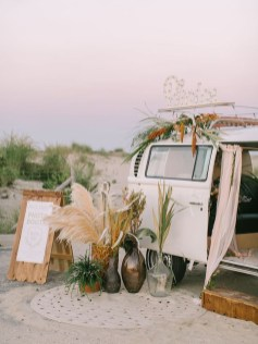 Gorgeous Wedding Theme Ideas With Vw Car Party To Have Right Now 30