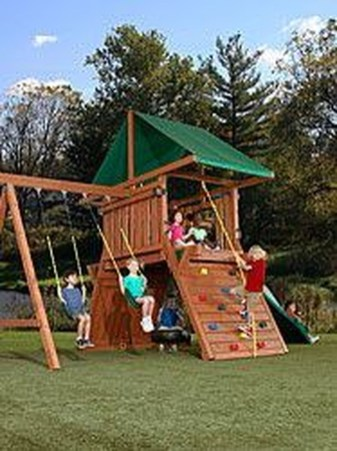 Magnificient Transform Backyard Design Ideas Into Kids Playground 13