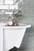 Modern Bathroom Design Ideas With Exposed Brick Tiles 16