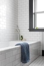 Modern Bathroom Design Ideas With Exposed Brick Tiles 36