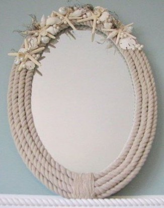 Newest Coastal Decorating Ideas With Rope Crafts To Try Right Now 18