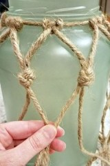 Newest Coastal Decorating Ideas With Rope Crafts To Try Right Now 24