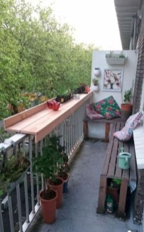 Relaxing Tiny Balcony Decor Ideas To Try This Month 11