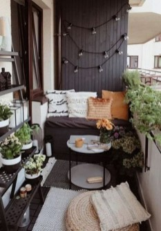 Relaxing Tiny Balcony Decor Ideas To Try This Month 12
