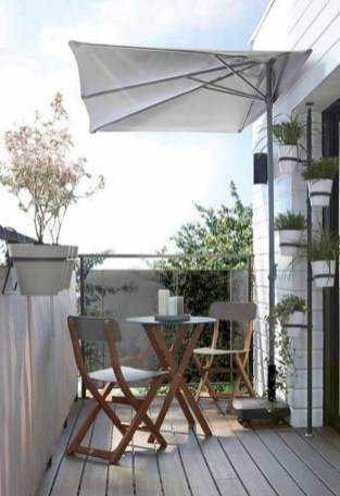 Relaxing Tiny Balcony Decor Ideas To Try This Month 13