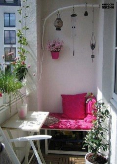 Relaxing Tiny Balcony Decor Ideas To Try This Month 14