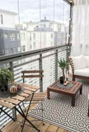 Relaxing Tiny Balcony Decor Ideas To Try This Month 25