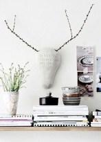 Splendid Deer Shelf Design Ideas With Minimalist Scandinavian Style To Try 30