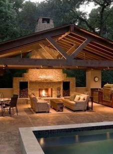 Unordinary Outdoor Living Room Design Ideas To Have Asap 01