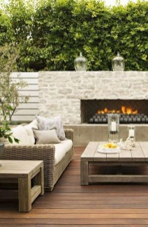 Unordinary Outdoor Living Room Design Ideas To Have Asap 19