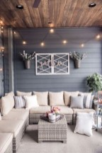 Unordinary Outdoor Living Room Design Ideas To Have Asap 24