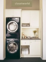 Unusual Laundry Arranging Design Ideas For Small Space To Try 04