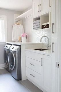 Unusual Laundry Arranging Design Ideas For Small Space To Try 05