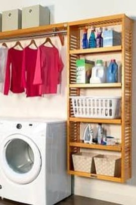 Unusual Laundry Arranging Design Ideas For Small Space To Try 07