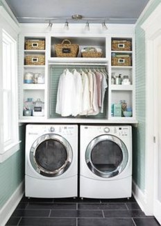 Unusual Laundry Arranging Design Ideas For Small Space To Try 10