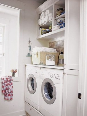 Unusual Laundry Arranging Design Ideas For Small Space To Try 18