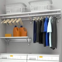 Unusual Laundry Arranging Design Ideas For Small Space To Try 37