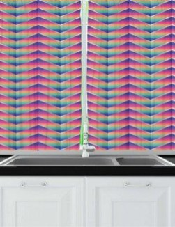 Adorable Rainbow Colorful Kitchens Design Ideas To Looks More Awesome 04