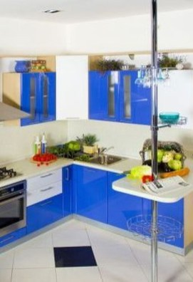 Adorable Rainbow Colorful Kitchens Design Ideas To Looks More Awesome 18