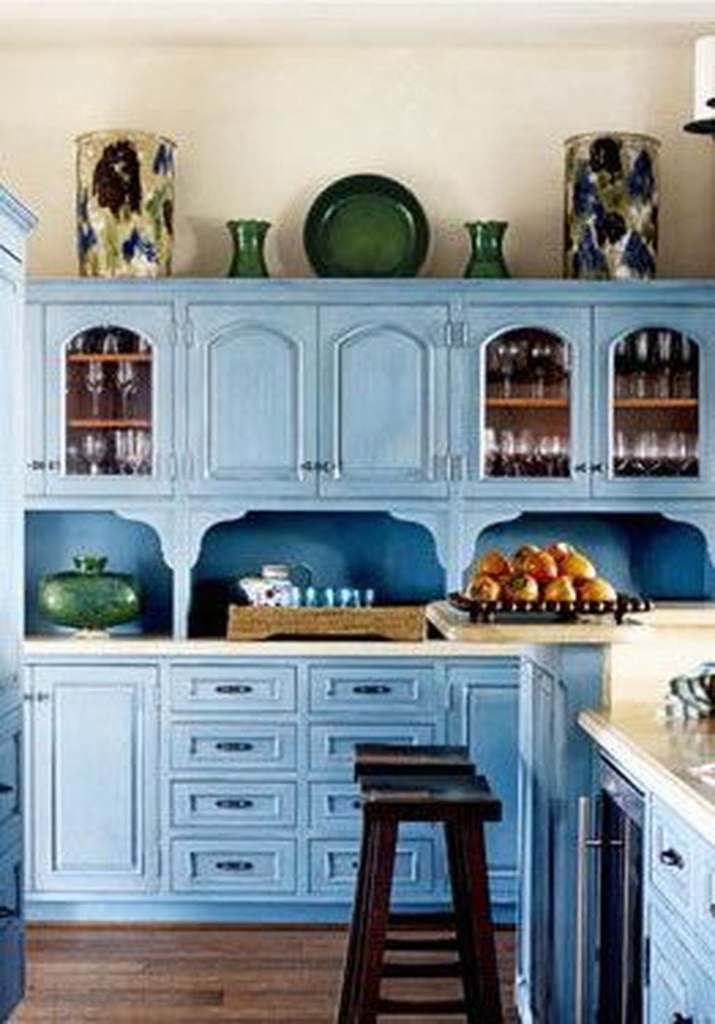 Adorable Rainbow Colorful Kitchens Design Ideas To Looks More Awesome 22
