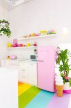 Adorable Rainbow Colorful Kitchens Design Ideas To Looks More Awesome 28