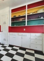 Adorable Rainbow Colorful Kitchens Design Ideas To Looks More Awesome 37