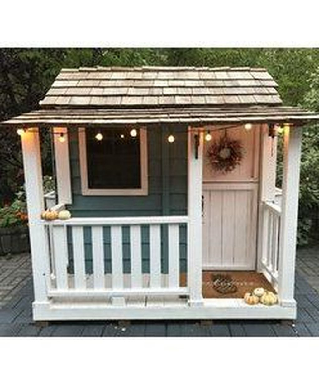 Attractive Outdoor Kids Playhouses Design Ideas To Try Right Now 13