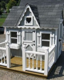 Attractive Outdoor Kids Playhouses Design Ideas To Try Right Now 18