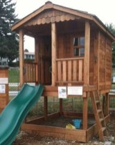 Attractive Outdoor Kids Playhouses Design Ideas To Try Right Now 21