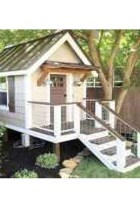 Attractive Outdoor Kids Playhouses Design Ideas To Try Right Now 24