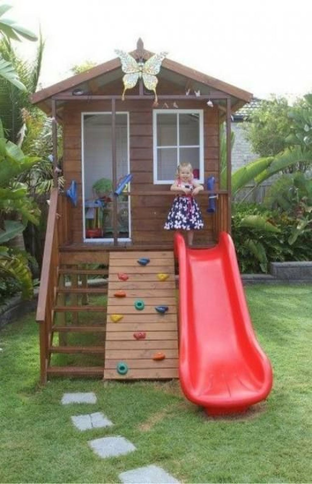 Attractive Outdoor Kids Playhouses Design Ideas To Try Right Now 26