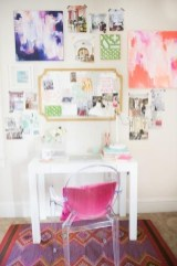 Captivating Girl Workspace Design Ideas That Looks So Cute 01